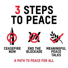 3 steps to peace in #Gaza: 1. ceasefire now 2. end the blockade 3. meaningful peace talks http://www.oxfam.org/gaza