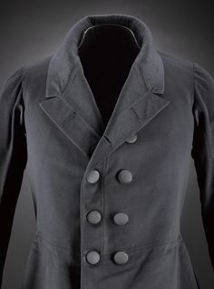 Victorian frock coat, c.1830-1850. National Museum of Scotland.