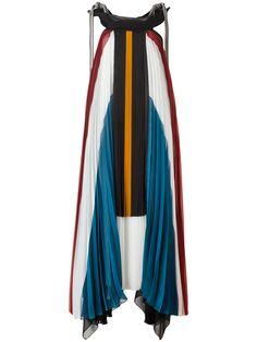 ¡Consigue este tipo de vestido informal de CHLOÉ ahora! Haz clic para ver los detalles. Envíos gratis a toda España. Chloé - Pleated Long Dress - Women - Silk/Cotton/Polyamide/Acetate - 36: Multicolour silk blend and cotton pleated long dress from Chloé featuring a sleeveless design, a knot detail, a tiered design and pleated details. Size: 36. Gender: Female. Material: Silk/Cotton/Polyamide/Acetate. (vestido informal, casual, informales, informal, day, kleid casual, vestido informal, r...