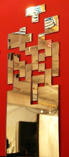 Mi el espejo esta parece tetris