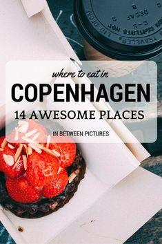 Eating in Copenhagen