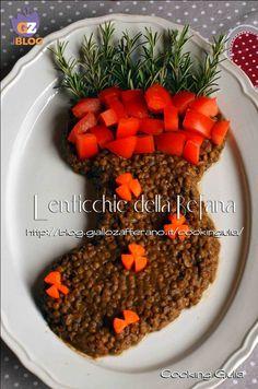 Lenticchie della befana | ricetta vegetariana | contorno| epifania