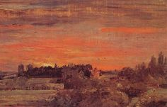 East Bergholt Rectory - John Constable