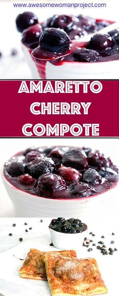 This velvety, amaretto cherry sauce recipe is easy enough to make for whatever celebration you have coming up. This cherry sauce is so versatile, that you can use it on pork chops, over ice cream, in hand pies, or pretty much anything else you can think of! #cherries #cherrysauce #cherrycompote #amarettocherrysauce #cherryrecipe #cherrysaucerecipe #cherrydessertsauce #cherrycompoterecipe
