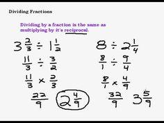 Divisin de fracciones dividing fractions ged pinterest dividing fractions ged pinterest ccuart Gallery