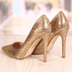 Poze Pantofi Stiletto Reptilos Gold Cod: 721