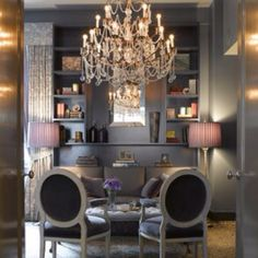 I love this room designed by Renea Abbott!