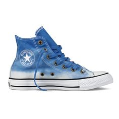 Dip-dyed Converse. I want the pink ones.