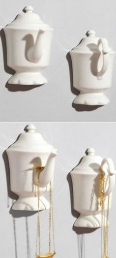 High Tea Wall Hooks, cute for the kitchen