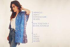 DIY Kimono ⎪ Elle Frost
