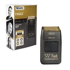 Wahl Professional 5 Star Series Finale Finishing Tool 8164  for Professional Stylists and Barbers  Super Close  Black ** Click image to review more details.