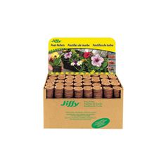 Jiffy Peat Pellets: Jiffy-7 Seed Starter System