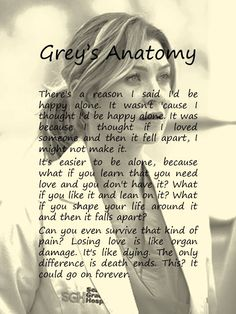 35 ideas for quotes greys anatomy meredith sad Tv Quotes, Movie Quotes, Life Quotes, Funny Quotes, Citations Film, Grey Anatomy Quotes, Grays Anatomy, Youre My Person, Beautiful Words