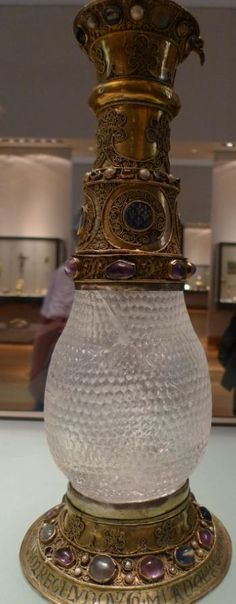A vase that once belonged to Eleanor of Aquitaine