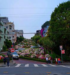 Lombard Street, San Francisco - California