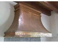 Resultado de imagen de imagenes campana extractora cocina cobre