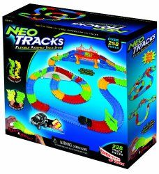 Mindscope Neo Tracks is easy to put together, easy to take apart and has literally hundreds of different permutations of track layout. Boys will never get bored of this one.
