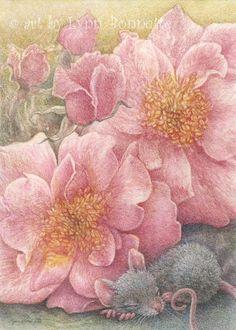 """""""In a Bed of Primrose"""" by Lynn Bonnette"""