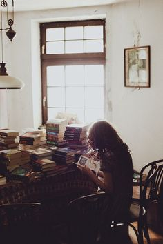 books, books, books. <3