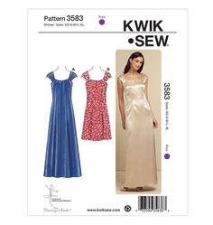 K3583, Misses' Dresses