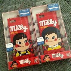 Milky BOY Candy iPhone 5 Soft Shell Character Jacket Phone Case