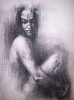 "Saatchi Online Artist Patrick Palmer; Drawing, ""Hush 2"" #art"