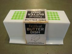 images Butter Dish, Container, Dishes, Green, Kitchen, Cooking, Tablewares, Kitchens, Cuisine