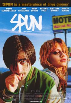 """""""Spun""""  The Amazon review sums it up beautifully:  """"Spun is an unclassifiable ensemble piece, intentionally bleached of soulfulness and high on visual invention and comic depravity. Set in north Los Angeles, where meth freaks lurch from one motel room to another in search of companionship and a score""""...  Stars Jason Schwartzman and an outstanding supporting cast."""