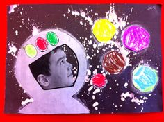 astronautti Projects For Kids, Art Projects, Theme Days, Outer Space, Solar System, Cosmos, Ps, Classroom Ideas, Monsters