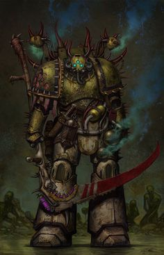 40k Death Guard by Jedi-Art-Trick.deviantart.com on @DeviantArt