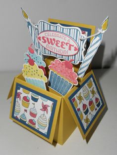 Sweet B-Day Box Linda Creech