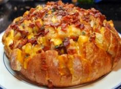 Yum... I'd Pinch That!   Cheesy Bacon Appetizer