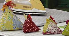 Do you use a pin cushion? If so, we have a fun, cute little project you may be interested in; if not, now is your chance to start!