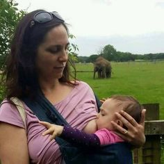 """Mama Cristina says:  """"Birthday milkies at the zoo. In the background, newborn elephant is feeding too!""""  #BirthdayMilk #baby #babies #adorable #cute #cuddly #cuddle #small #lovely #love #instagood #kid #kids #beautiful #life #sleep #sleeping #children #happy #igbabies #childrenphoto #toddler #instababy #infant #young #photooftheday #sweet #tiny #little #family"""