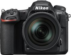 Nikon - D500 Dslr Camera with 16-80mm Lens - Black, 1560