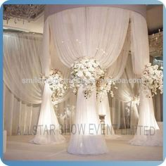 China Wholesale Pipe And Drape Wedding Stage Backdrop Decoration ...