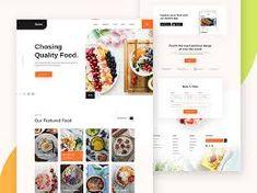restaurant web ui design - Google Penelusuran Ui Design Patterns, Web Ui Design, Restaurant Website, Daily Ui, Landing Page Design, Show And Tell, Branding, Google, Brand Management