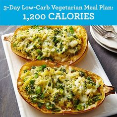 3-Day Low-Carb Vegetarian Meal Plan: 1,200 Calories - EatingWell