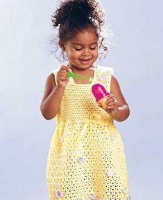 Beat the Heat: Crochet Summer Toddler Dress Free Patterns