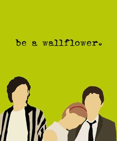 Minimalist picture about The Perks of Being a Wallflower. Imagem minimalista de As Vantagens de ser Invisível.