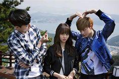 Back to School: 10 School-themed Asian dramas you must watch Korean Actresses, Korean Actors, Actors & Actresses, Korean Dramas, Drama Film, Drama Movies, Who Are You School 2015, School 2013, Sung Joon