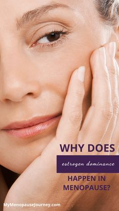 Estrogen Dominance in Menopause | It happens to all women experiencing menopause; so you are not alone. Know the reason why it happens in menopause and learn ways to relieve the symptoms naturally! Click the link now. | #EstrogenDominance #WomensHealth #MenopauseHealth Menopause Signs, Menopause Age, Menopause Humor, Menopause Symptoms, Estrogen Dominance, Hormone Imbalance, Body Systems, Hypothyroidism, Knowledge