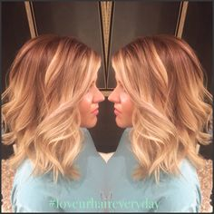 Balayage beautiful!! Blonde. Hair painting.