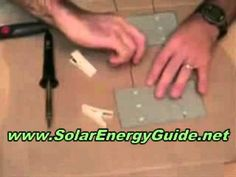 A new Solar Panels article has been added at http://greenenergy.solar-san-antonio.com/solar-energy/solar-panels/homemade-solar-panels-soldering-solar-cells-part-1/