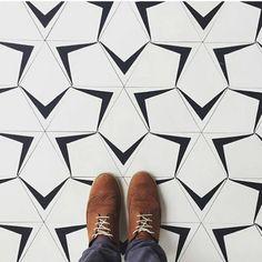 Modern tiles #tiles #tiling