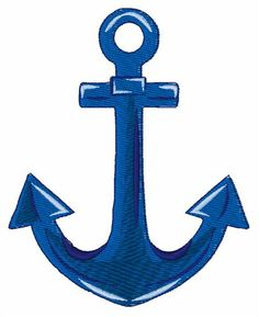 Windmill Designs embroidery design...Boat anchor