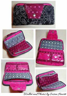 Beresford Zip Around Wallet PDF Sewing Pattern- RLR Creations. Bag ... 1089176465319