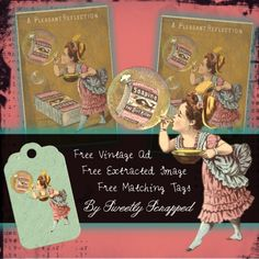 Sweetly Scrapped: Free Printbale Soapine Ad, Extracted Image and Tag...
