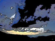 'Black Cloud' von Dirk h. Wendt bei artflakes.com als Poster oder Kunstdruck $19.41