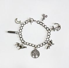 Teen Wolf Inspired Charm Bracelet please please please